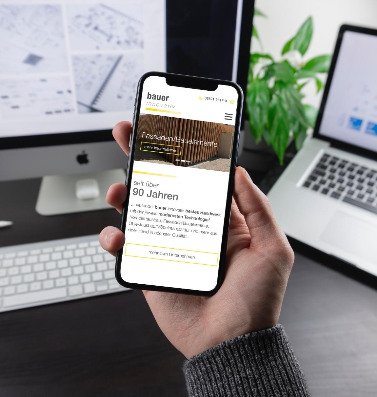 Bauer innovativ Smartphone