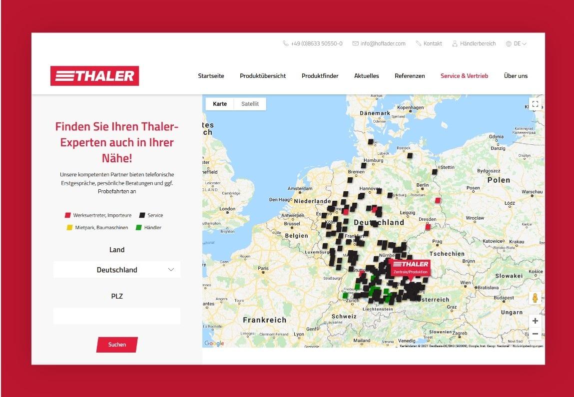 Thaler website